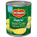 Del Monte Cream Style Golden Sweet Corn