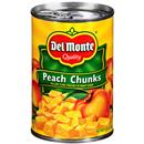 Del Monte Yellow Cling Peach Chunks in Heavy Syrup