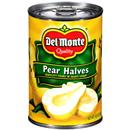 Del Monte Bartlett Pear Halves In Heavy Syrup