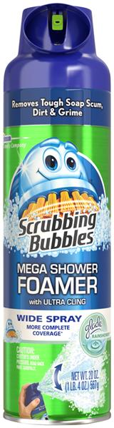 Scrubbing Bubbles Bathroom Cleaner, Mega Shower Foamer
