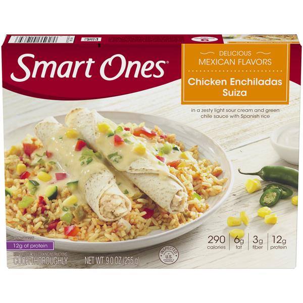 Smart Ones Delicious Mexican Flavors Chicken Enchiladas Suiza
