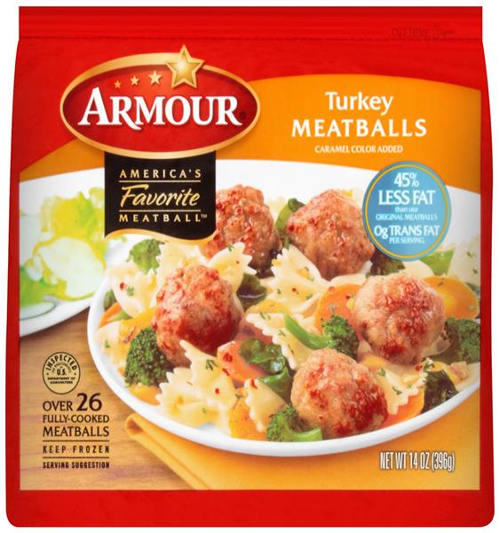 Armour Turkey Meatballs