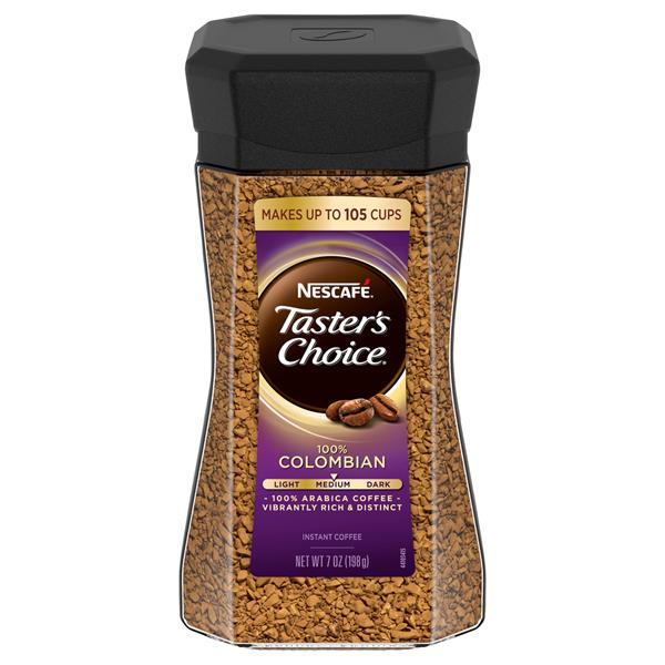Nescafe Taster's Choice 100% Colombian Instant Coffee