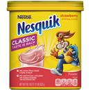 Nesquik Strawberry Flavor Powder Drink Mix