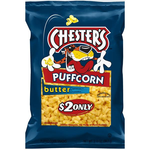 Chester's PuffCorn Butter Puffed Corn Snacks $2 Prepriced