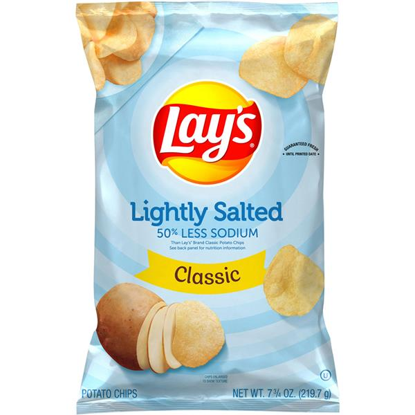 Lay's Lightly Salted Classic Potato Chips