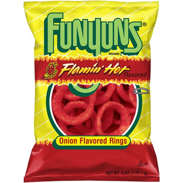 Funyuns Flamin' Hot Onion Flavored Rings