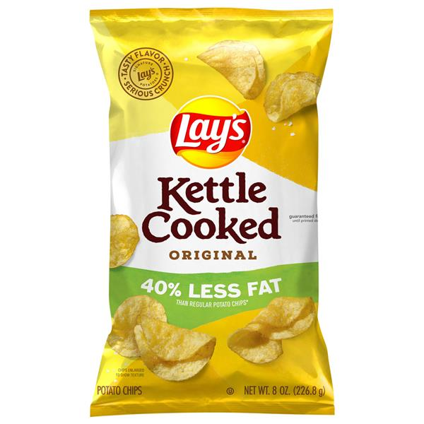 Lay's Kettle Cooked Reduced Fat Original Potato Chips