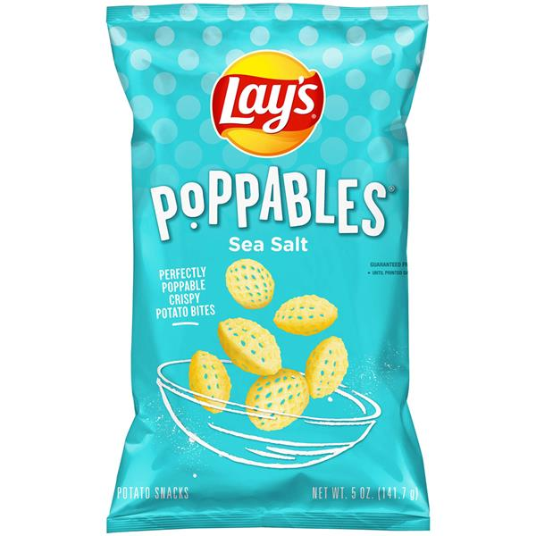 Lay's Poppables Sea Salt Potato Snacks
