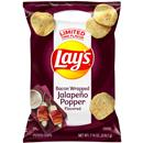 Lay&#39s Bacon Wrapped Jalapeno Popper Potato Chips