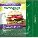 Morning Star Farms Meat Lovers Vegan Burgers 2Ct
