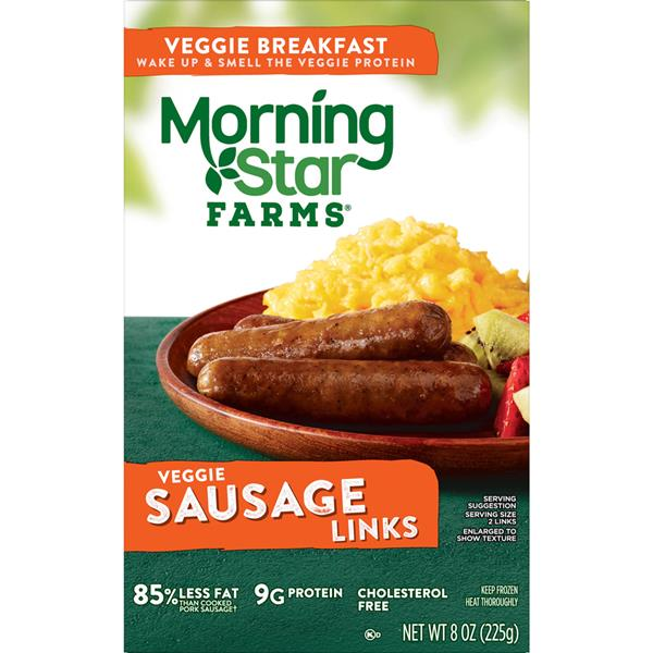 Morning Star Farms Veggie Breakfast Sausage Links