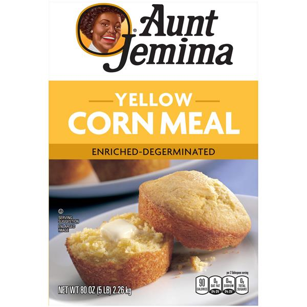 Aunt Jemima Yellow Corn Meal Bag