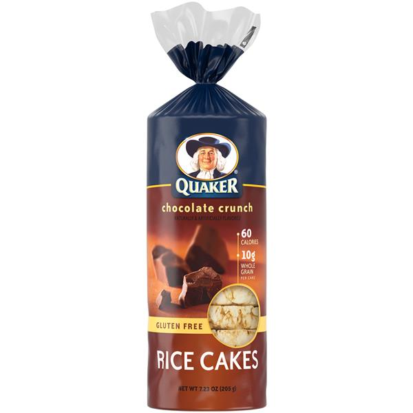 Quaker Chocolate Crunch Rice Cakes | Hy-Vee Aisles Online ... Quaker Rice Cakes Ingredient List