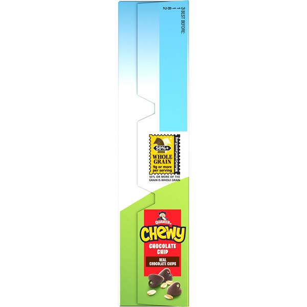 Quaker Chewy Chocolate Chip Granola Bars 8-0.84 oz Bars