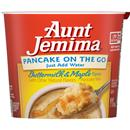 Aunt Jemima Pancake On The Go  Buttermilk & Maple Pancake Mix