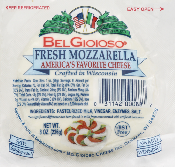 BelGioioso Fresh Mozzarella Cheese