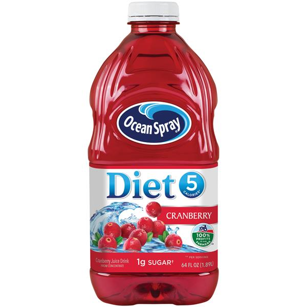 Ocean Spray Diet 5 Cranberry Juice Drink