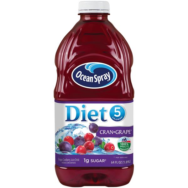 Ocean Spray Diet Cran-Grape Juice Drink