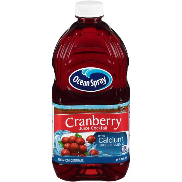 Ocean Spray Cranberry Juice Cocktail with Calcium