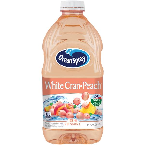 Ocean Spray White Cran-Peach