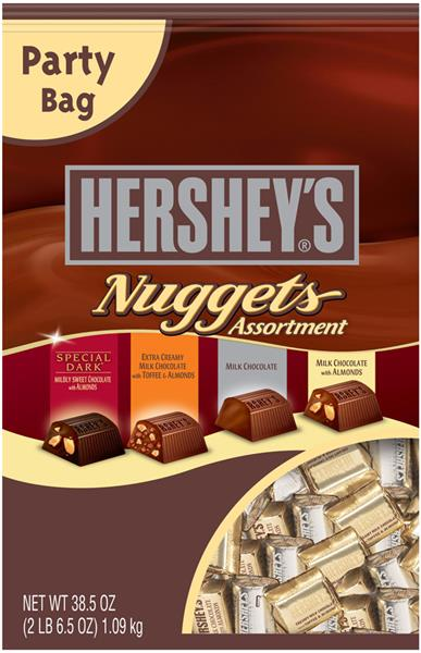 Hershey S Nuggets Chocolate Assortment Party Bag