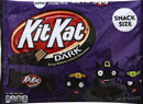 Halloween Kit Kat Snack Size Dark Chocolate