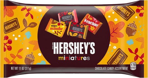 Fall Harvest Hershey's Miniatures