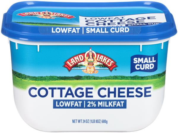 Land O Lakes 2% Milkfat Small Curd Cottage Cheese | Hy-Vee Aisles