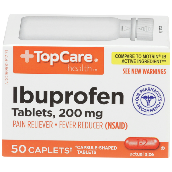 TopCare Ibuprofen Tablets 200mg