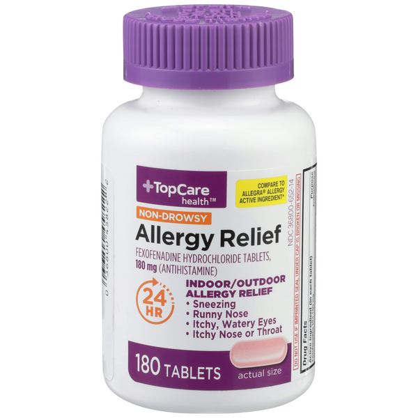 Top Care Health Non-Drowsy Allergy Relief Tablets