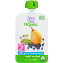 Tippy Toes Organic 2 Pear Blueberry Spinach Baby Food