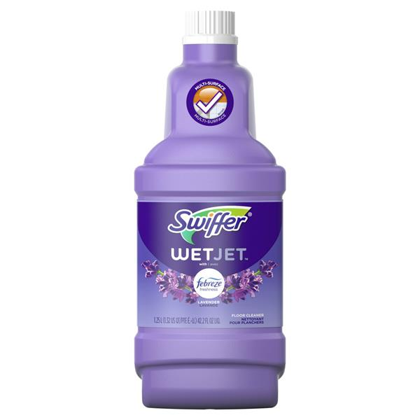 Swiffer WetJet Multi-Purpose Cleaner Solution with Febreze Lavender Vanilla & Comfort
