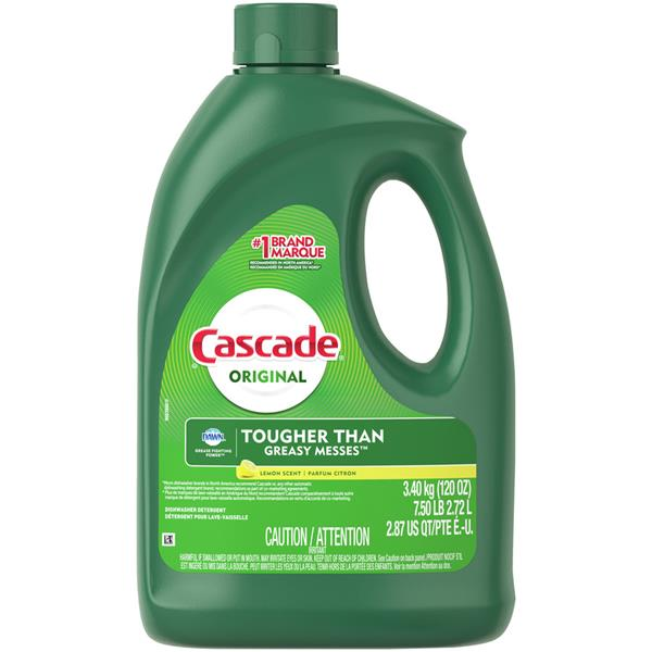 Cascade Lemon Scent with Dawn Liquid Automatic Dish Washing Detergent