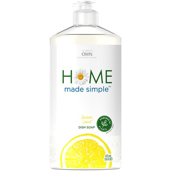 Home Made Simple Dish Soap, Lemon Scent