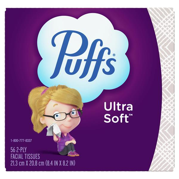Puffs Ultra Soft & Strong Facial Tissues