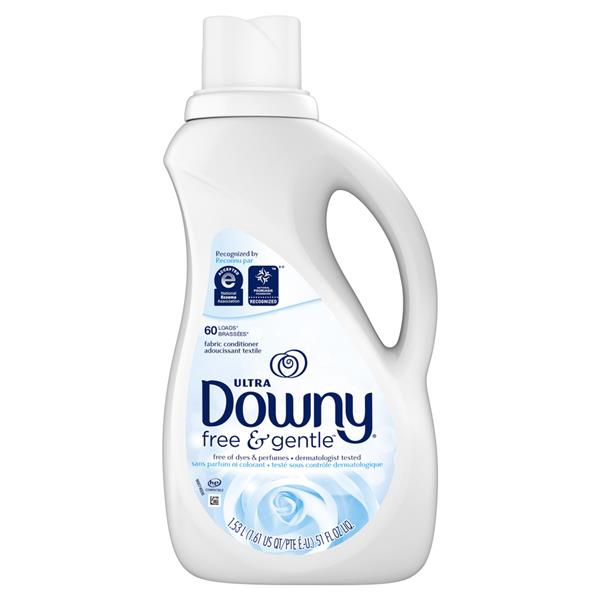 Ultra Downy Fabric Protect Free & Gentle Liquid Fabric Conditioner