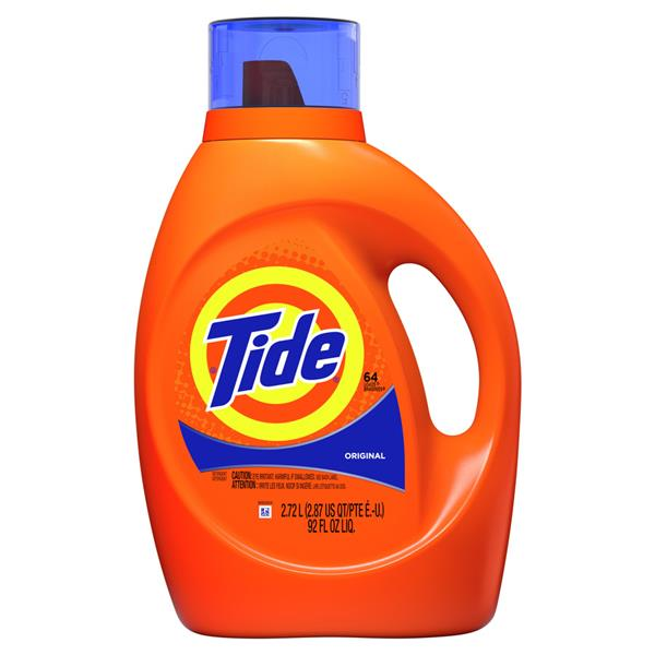 Tide Liquid Laundry Detergent, Original, 64 loads