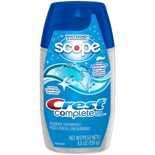 Crest Complete Scope Whitening Cool Peppermint