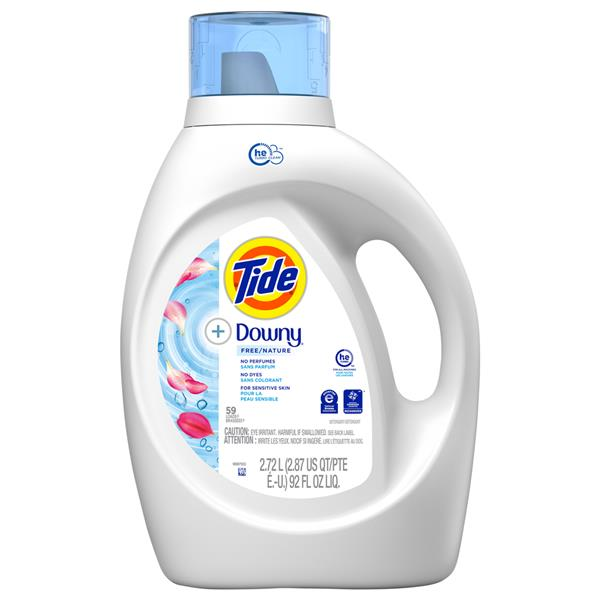 Tide +Downy Free, Liquid Laundry Detergent 59 loads