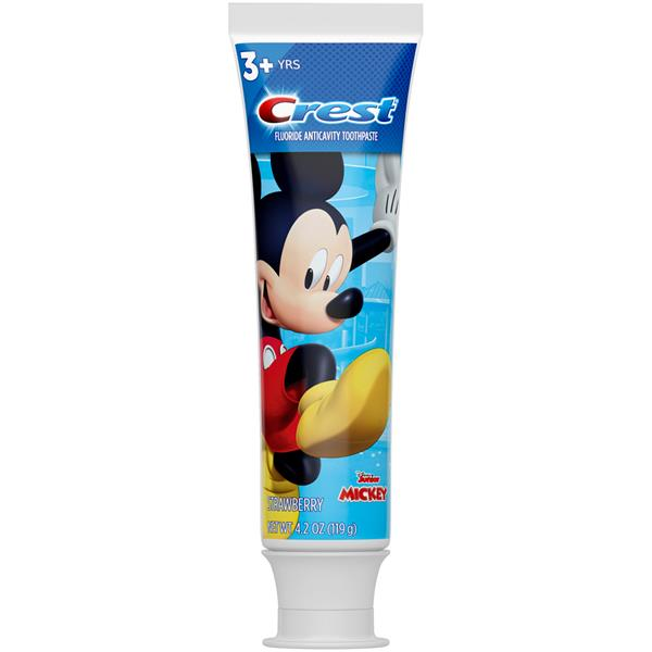 Crest Kids Toothpaste Featuring Disney Pixars The Incredibles 2 Fruit Burst
