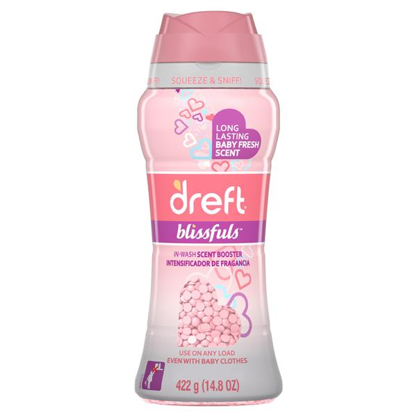 Dreft Blissfuls In-Wash Scent Booster Beads, Baby Fresh