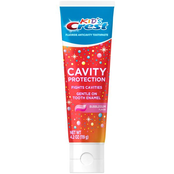 Kids Kid's Crest Cavity Protection - Bubblegum Flavor Toothpaste Gel Formula