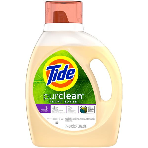 Tide Purclean Honey Lavender Laundry Detergent