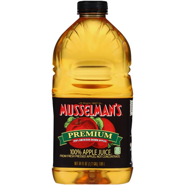 Musselman's Premium 100% Apple Juice