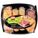 Hormel Pepperoni & Hard Salami with Cheese & Crackers Party Tray