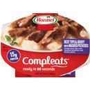 Hormel Compleats Beef Tips & Gravy with Mashed Potatoes