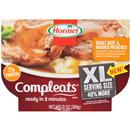 Hormel Compleats XL Roast Beef & Mashed Potatoes