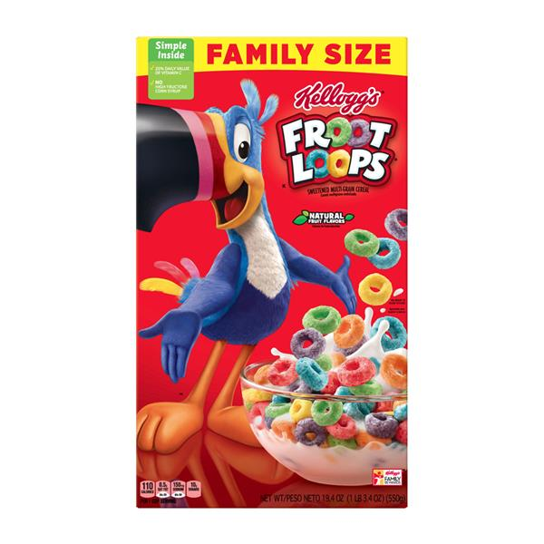 Kellogg's Froot Loops Family Size