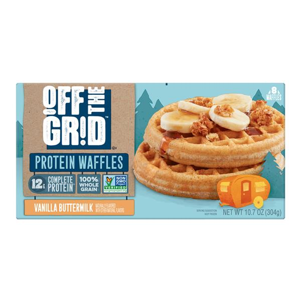 Kellogg's Off The Grid Waffles Vanilla Buttermilk